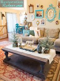 winter coffee table decor thesecretconsul com