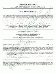 Best Teaching Resumes by Free Sample Resumes For Teachers Free Teacher Resume Templates