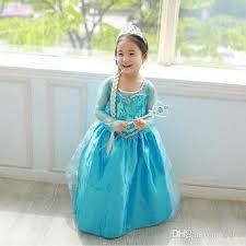 elsa costume best frozen elsa dress girl princess dress summer longs frozen