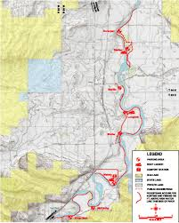 Wydot Map Bighorn River Below Thermopolis Public Access Area