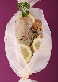 cuisiner sans gras recette de poisson papillote sans matière grasse ligne en ligne