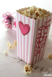 cricut craft room basics valentine popcorn boxes