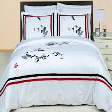 red and black bedding cannon layered leaves comforter gray red