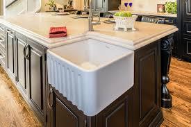Corner Farm Sink Black Custom Inset Cabinet - Corner cabinet for farmhouse sink
