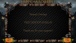 halloween desktops happy halloween hd desktop overlay by toranasoverlays on deviantart