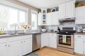 Grey Kitchen Backsplash Kitchen Backsplash Tile Light Gray Kitchen Cabinets Beautiful