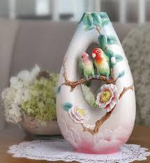 Franz Butterfly Vase Franz Collection Porcelain Vases