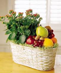 fruit and flower basket ftd fruits and flowers gift basket usa and canada delivery