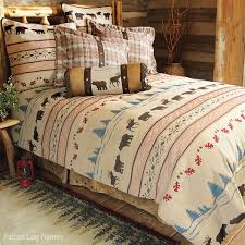 country bedding moose and bedding set cabin bedding and