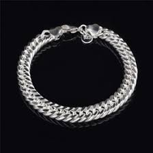 2015 men s jewelry 8mm 60cm new arrival power necklaces discount 8mm sterling silver figaro chain 2017 8mm sterling