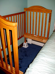 Tall Bed Risers Tomorrow U0027s Memories How To Sidecar A Crib