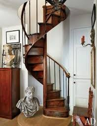 Narrow Stairs Design 04 Wooden Spiral Staircase Of New Build With Under Stairs Storage