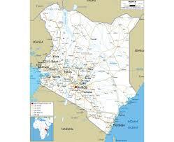 Ocean City Map Maps Of Kenya Detailed Map Of Kenya In English Tourist Map