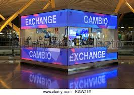 bureau de change 4 exchange booth office cambio bureau de change terminal 4