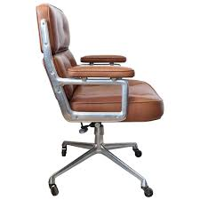 time life executive leather chair by eames for herman miller at
