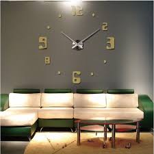 living room wall clock 4 ideas for large decorative wall clocks that are totally catchy
