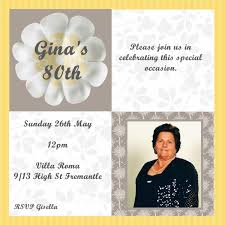 how to create 80th birthday invitations free templates egreeting