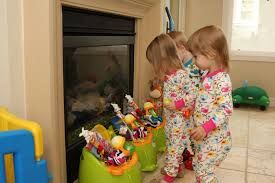 make your own umbrella easter baskets non candy centered allergy