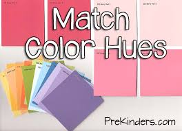 matching colours with pink matching color hues with paint cards