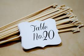 wedding table number holders wedding tables diy wedding reception table number holders