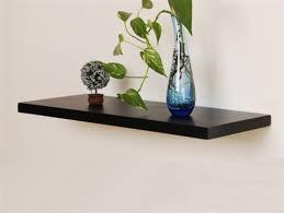 aspen floating shelf bracketless shelves modern display and