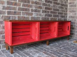 Diy Wood Storage Bench by Best 25 Crate Bench Ideas On Pinterest Shoe Storage Shoe Bench