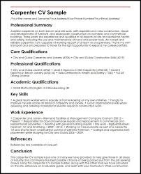 Plumber Resume Sample by Carpenter Resume Examples Resume Examples First Job Examples Of