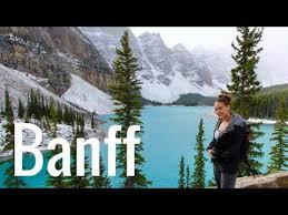 exploring banff lake louise alberta canada