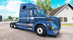 skin on canada cartage tractor volvo vnl 670 for american truck