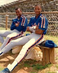 The Doc And Darryl Mets - dwight gooden darryl strawberry ny mets beisbol grandes
