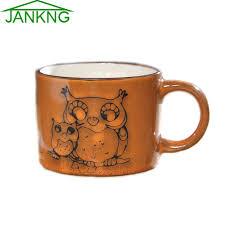 novelty coffee mugs aliexpress com buy jk home 300ml owl mother baby ceramic mugs
