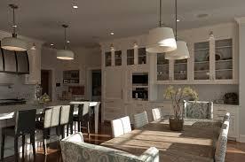 round fabric shade pendant light sloane street shop light with linen shades transitional kitchen