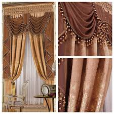 Decor Beaded Window Curtains Beaded by Beads The Blind Luxury Fashion Classical Decoration Bronzier