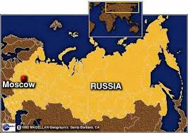 moscow russia map moscow map