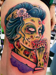 15 scary zombie tattoo designs for you to try instaloverz