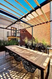 spacious 4 level back deck patio design in montréal canada
