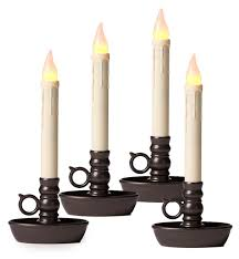 window candle 4 pack lighting plow hearth