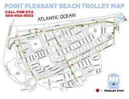 Lake Pleasant Map Borough Of Point Pleasant Beach