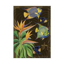 Fish Area Rug Tropical Fish Area Rug