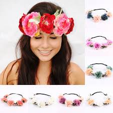 headband flowers women headband flowers headband wedding flower crown