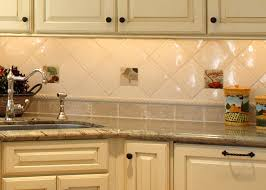 kitchen backsplash ideas for using stainless steel tile backsplash ideas for kitchen using endearing mosaic glass tile with diagonal pattern white