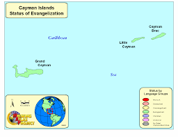 Map Of Cayman Islands Cayman Islands Worldmap Org
