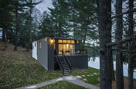 modern cottage design modern cottage with woodsy charm by kariouk associates