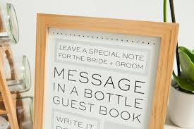 message in a bottle wedding check out this diy message in a bottle guest book