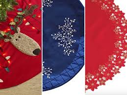 christmas tree skirts the best christmas tree skirts woman s world