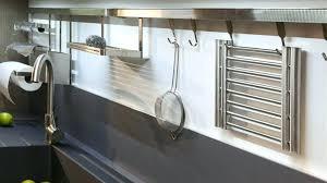 barre ustensiles cuisine inox barre de credence sans percer barre de cuisine impressionnant barre