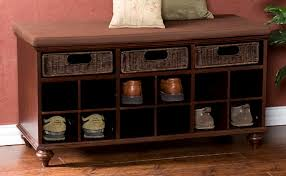 Bench With Shoe Storage Plans - bench with shoe storage plans home design by john