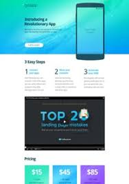 free landing page templates squeeze themes getresponse