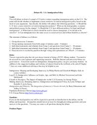 cover letter opening statements immigration reform essays essay on illegal immigration prri