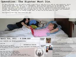 Christopher Poole Meme - wtf 4chan operation hipster must die is planned for 4 6 11 to ruin
